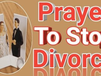 Prayer For Divorce To Stop